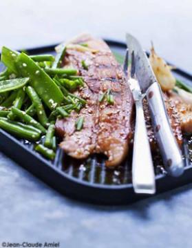 Poitrine grill e l 39 asiatique pour 4 personnes recette - Cuisiner poitrine d agneau ...