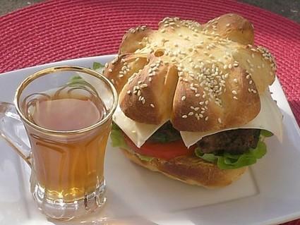 Recette de burger à l'algérienne