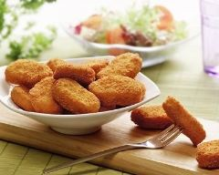 Recette nuggets de poulet au fromage frais