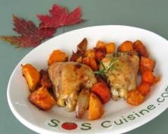 Recette poulet et patates douces à l'érable