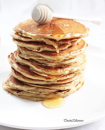 Recette de pancakes aux pommes râpées