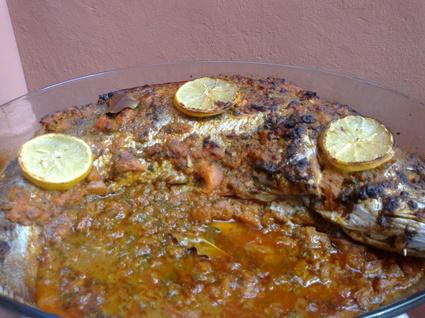 Recette de poisson entier au four