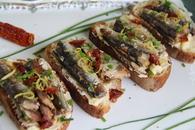 Recette de tartines de sardines au beurre citron