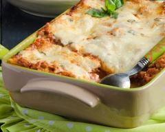 Recette lasagnes aux courgettes, steak haché et basilic