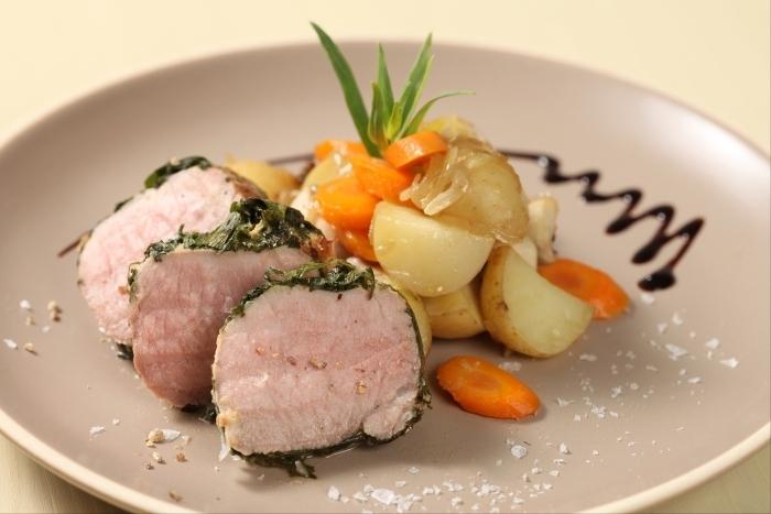 Recette de rosette de filet mignon de porc à l'estragon et moutarde ...