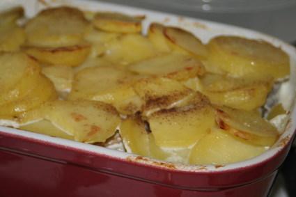 Recette de gratin de pommes de terre au hareng fumé