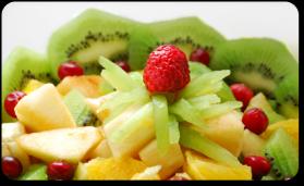 La salade de fruits exotique pour 4 personnes