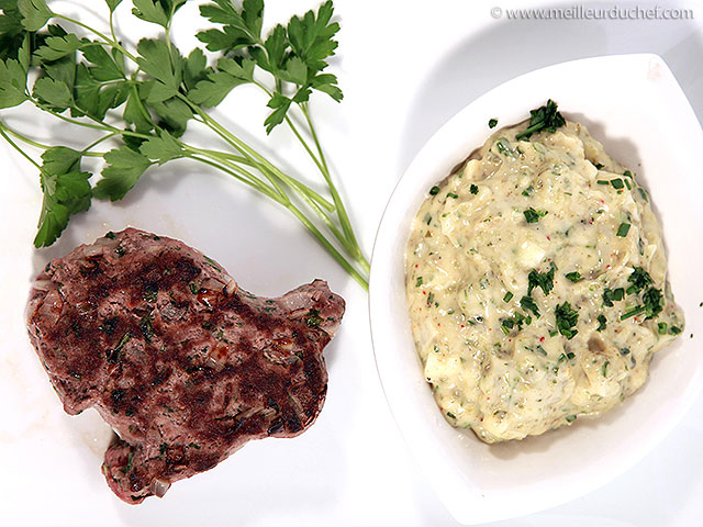Steak haché, sauce tartare  recette de cuisine avec photos ...