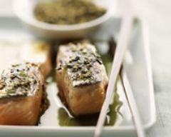 Recette saumon sauce au thé vert