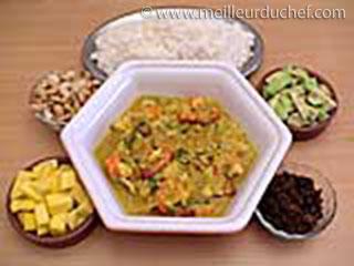 Curry de poisson  recette de cuisine avec photos  meilleurduchef ...