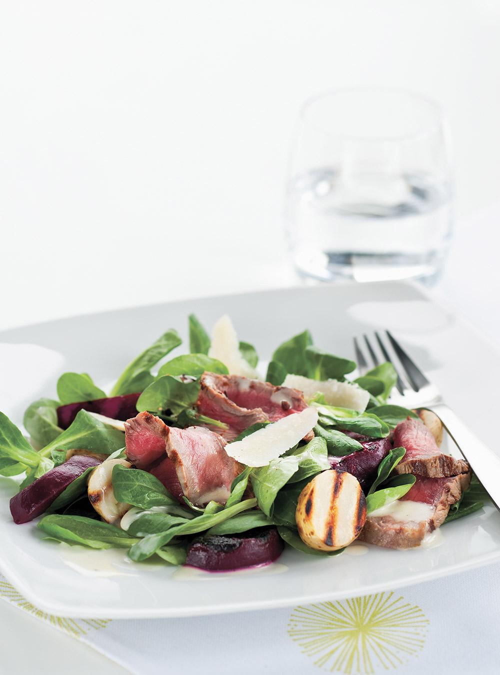 Salade de boeuf, de betteraves et de pommes de terre | ricardo