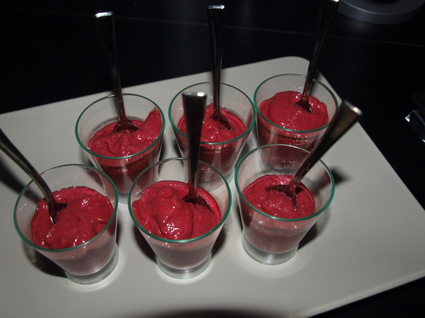 Recette verrines de betteraves (verrine)