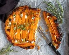 Recette tarte tatin aux carottes