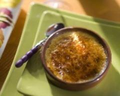 Recette crème brûlée au miel et à la crème de marrons