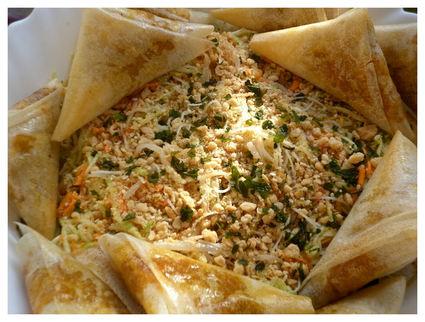 Recette de samoussas épicés boeuf-légumes