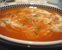 Recette soupe de carottes au gingembre