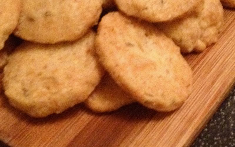 Recette sablé comté au sésame pas chère > cuisine étudiant