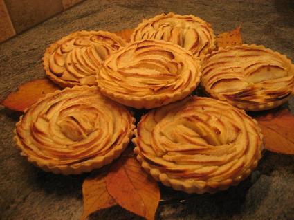Recette de tartelettes aux pommes