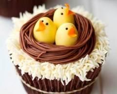 Recette cupcakes au chocolat de pâques