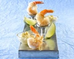Recette crevettes croustillantes et sauce crémeuse aux agrumes