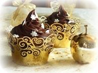Recette de cupcakes au chocolat pour noël