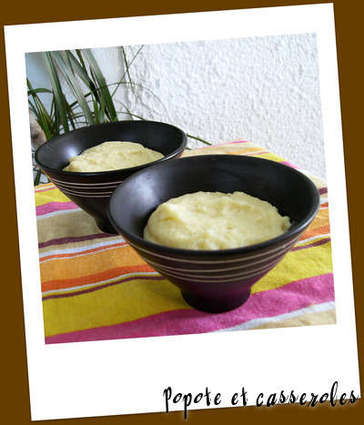 Recette de semoule au lait vanillé et au safran