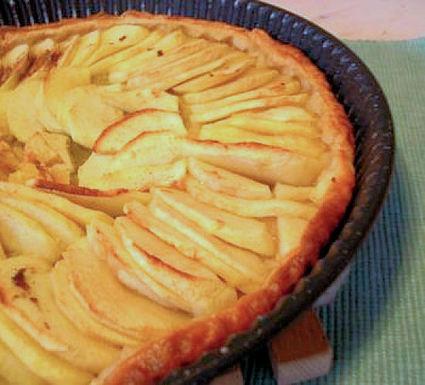 Recette de tarte aux pommes et compote de pommes