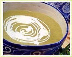 Recette soupe glacée de courgettes