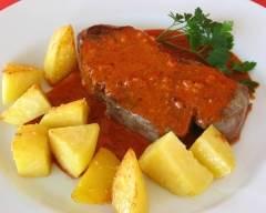 Recette filet mignon, sauce crémeuse au paprika