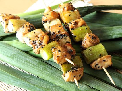 Recette yakitori ou brochettes de poulet japonaises