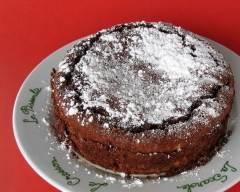 Recette gâteau aux amandes et chocolat sans lactose