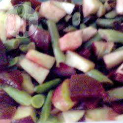 Recette salade de betteraves, haricots verts et pommes – toutes les ...