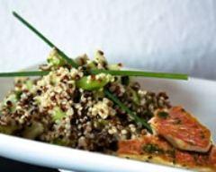 Recette filets de rougets marinés, sauce aux fruits exotiques ...