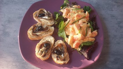 Recette salade de crevettes (salade méditerranéenne)