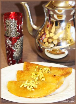 Recette de baghrir frit à la pistache