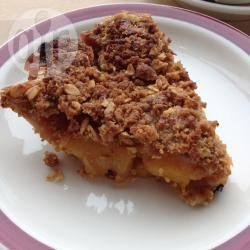 Recette tarte pêche gingembre façon crumble – toutes les recettes ...