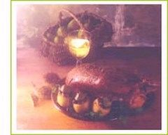 Recette canard rôti au miel et aux poires