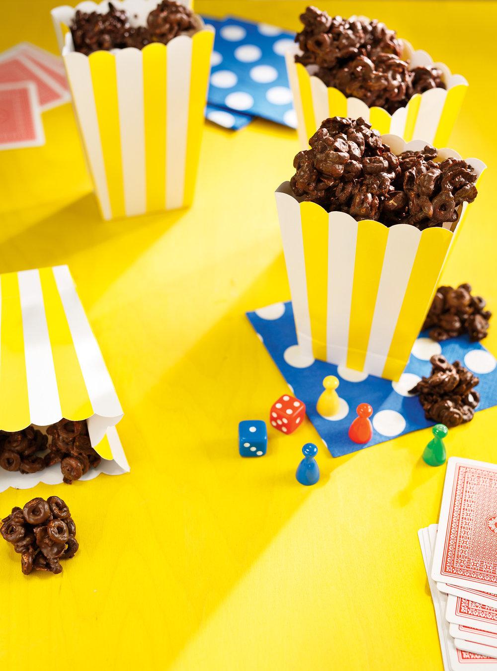 Bouchées croquantes aux céréales et au chocolat | ricardo