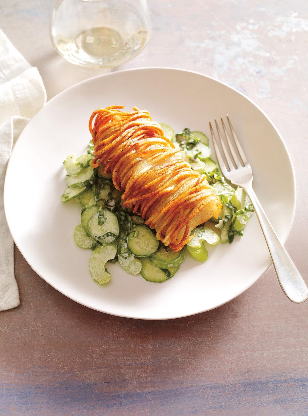 salade de haricots blancs croquettes de sardines et tomates confites recette. Black Bedroom Furniture Sets. Home Design Ideas