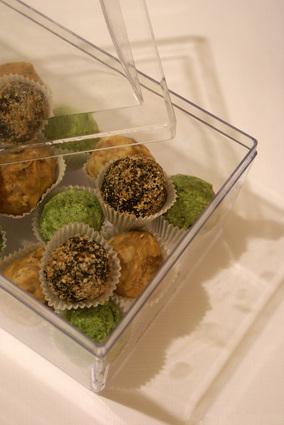 Recette de truffes au cœur amande et chocolat blanc