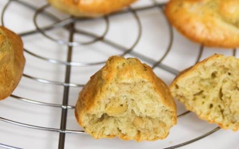 Recette madeleines pesto pignons de pin pas chère et rapide ...