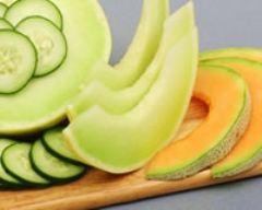 Recette salade melon-concombre au yaourt