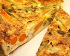 Recette tarte carotte-son d'avoine et chèvre
