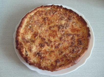 Recette de tarte thon-champignons