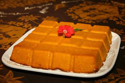 Recette de gâteau de patates douces au rhum
