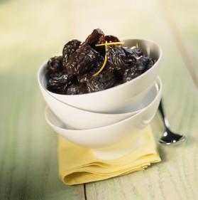 Compote d'agrumes et de fruits secs au vin blanc