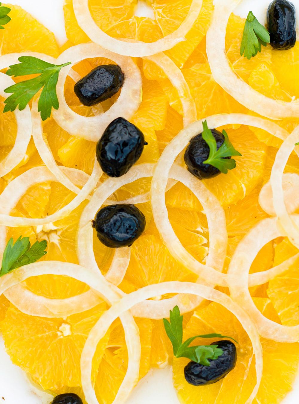 Salade d'orange et d'oignon d'ethné de vienne | ricardo