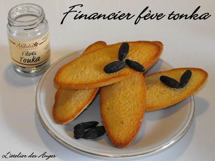 Recette de financier à la fève tonka