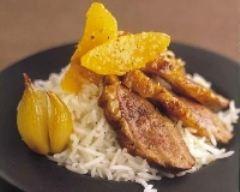 Recette magret de canard au thé et à l'orange