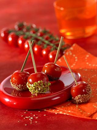 Recette tomates cerise d'amour (amuse gueule)